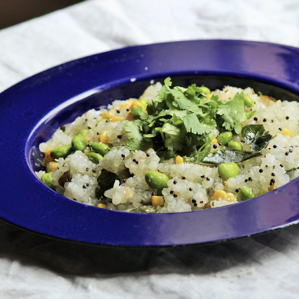 インドのタピオカ料理「サブダナ・キチュリ」を作りました